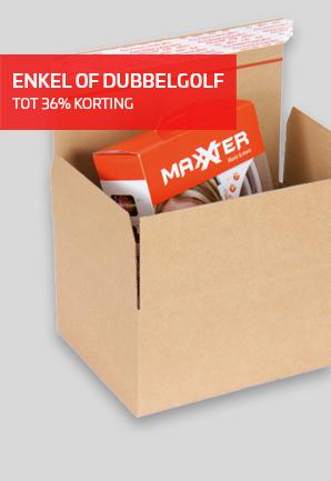 Speedbox zelfklevende doos